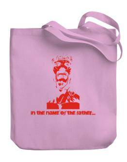 """Bolso de """" In the name of the father... - Jesus """""""