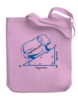 Hippotenuse Canvas Tote Bag