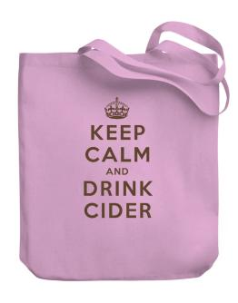 Bolso de Keep Calm and drink Cider