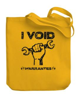 I void warranties Canvas Tote Bag