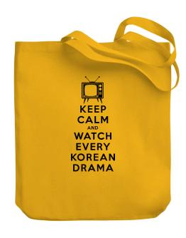 Bolso de Keep Calm and Watch Every Korean Drama
