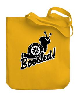 Boosted turbo snail Canvas Tote Bag