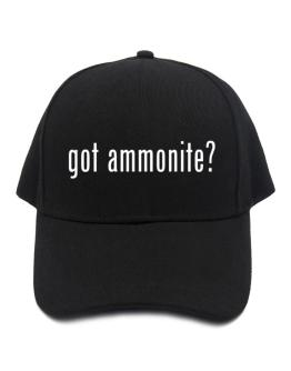Got Ammonite? Baseball Cap