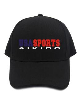 Usa Sports Aikido Baseball Cap