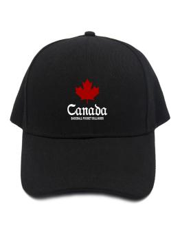 Canada Baseball Pocket Billiards Baseball Cap