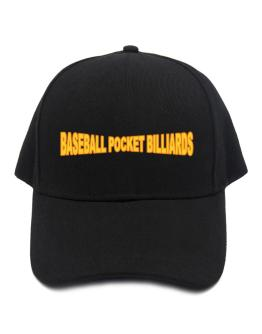 Baseball Pocket Billiards Baseball Cap