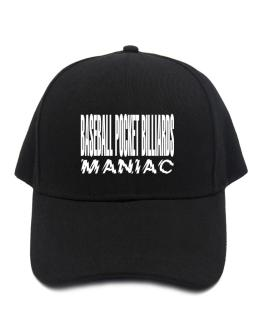 Maniac Baseball Pocket Billiards Baseball Cap