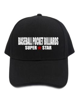 Super Star Baseball Pocket Billiards Baseball Cap