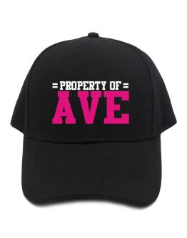 Property Of Ave Baseball Cap