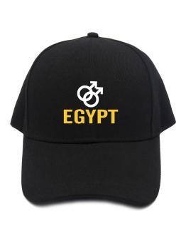 Egypt - Male Gender Symbols Baseball Cap