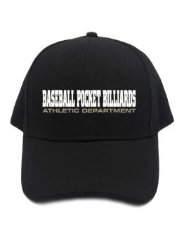 Baseball Pocket Billiards Athletic Department Baseball Cap