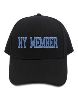 Hy Member - Simple Athletic Baseball Cap