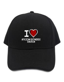 I Love African Orthodox Church Baseball Cap