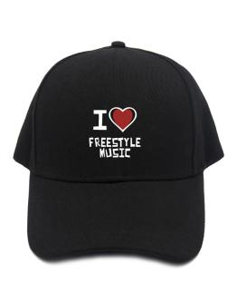 I Love Freestyle Music Baseball Cap