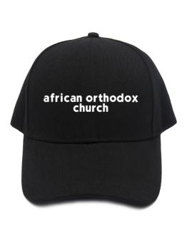 """ African Orthodox Church word "" Baseball Cap"