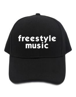 """ Freestyle Music word "" Baseball Cap"