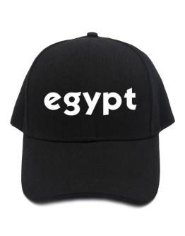 """ Egypt word "" Baseball Cap"