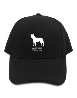 Australian Cattle Dog silhouette Baseball Cap