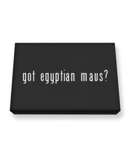 Got Egyptian Maus? Canvas square