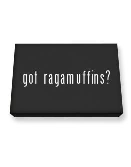 Got Ragamuffins? Canvas square