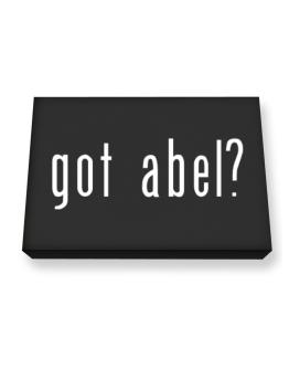Got Abel? Canvas square