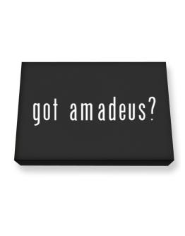 Got Amadeus? Canvas square