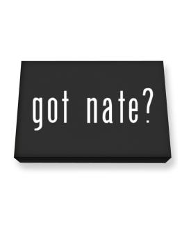 Got Nate? Canvas square