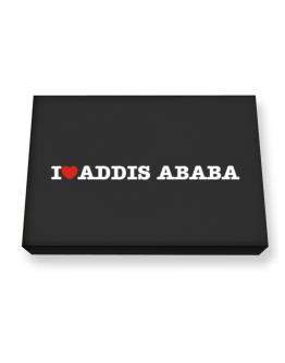 I Love Addis Ababa Canvas square