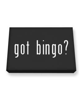 Got Bingo? Canvas square