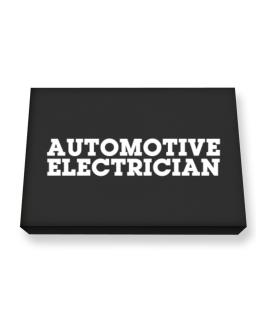 Automotive Electrician Canvas square