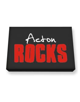Acton Rocks Canvas square