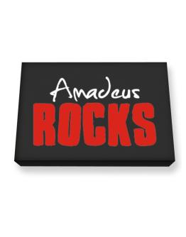 Amadeus Rocks Canvas square