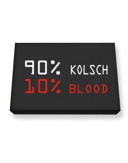 90% Kolsch 10% Blood Canvas square