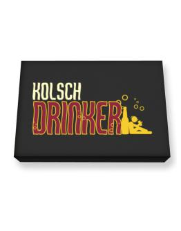 Kolsch Drinker Canvas square
