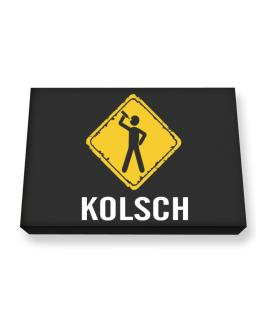 Kolsch Canvas square