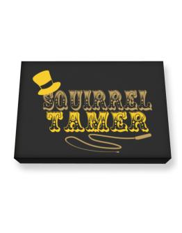 Squirrel Tamer Canvas square