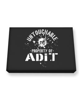 Untouchable : Property Of Adit Canvas square