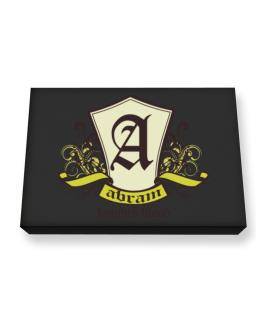 Abram Knights Blood Canvas square