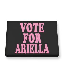 Vote For Ariella Canvas square
