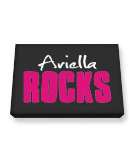 Ariella Rocks Canvas square