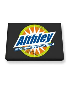 Aithley - With Improved Formula Canvas square