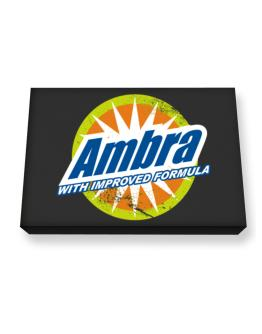 Ambra - With Improved Formula Canvas square