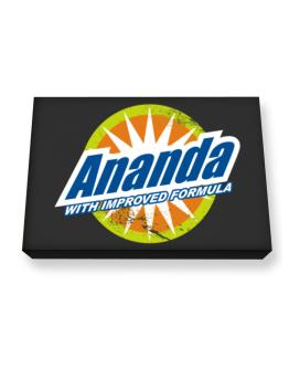 Ananda - With Improved Formula Canvas square