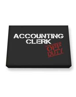 Accounting Clerk - Off Duty Canvas square