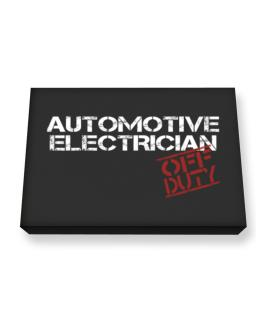 Automotive Electrician - Off Duty Canvas square