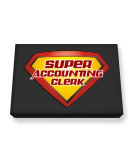 Super Accounting Clerk Canvas square