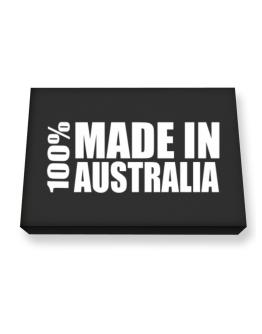 100% Made In Australia Canvas square