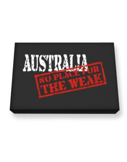 Australia No Place For The Weak Canvas square