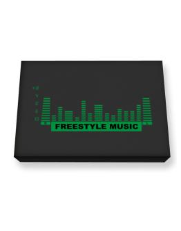 Freestyle Music - Equalizer Canvas square