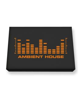 Ambient House - Equalizer Canvas square
